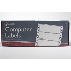 """Maco Computer Labels, 4"""" x..."""
