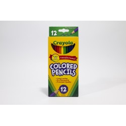 Crayola Coloured Pencils, 12pk