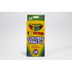 Crayola Coloured Pencils, 24pk