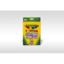 Crayola Coloured Pencils, 36pk