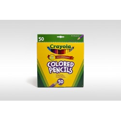 Crayola Coloured Pencils, 50pk