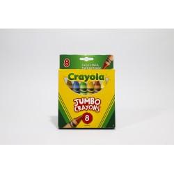 Crayola Jumbo Crayons, 8pk