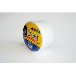 Bazic Duct Tape, White, 30ft