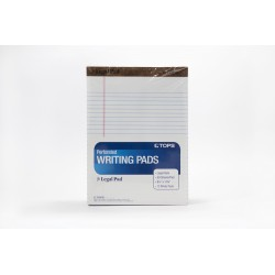 TOPS Writing Pads, Legal...