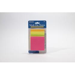 Bazic Stick On Notes, 3x3,...