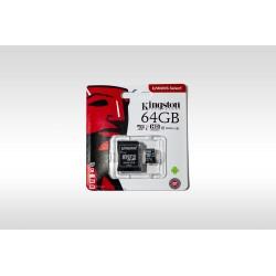 Kingston Canvas Select microSD Memory Card, 64GB