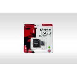Kingston Canvas Select microSD Memory Card, 16GB